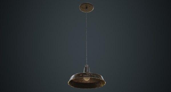 hanging lamp 2c 3D model