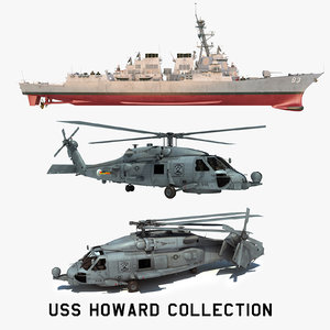 3D 2 uss howard ddg
