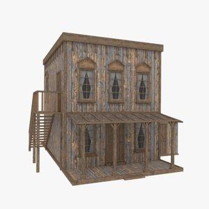 western house 3D model