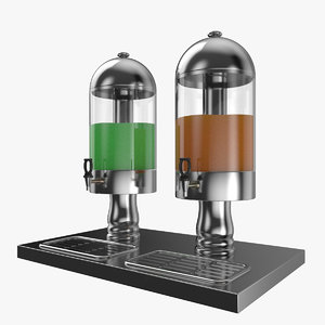 cold drink dispanser 3D