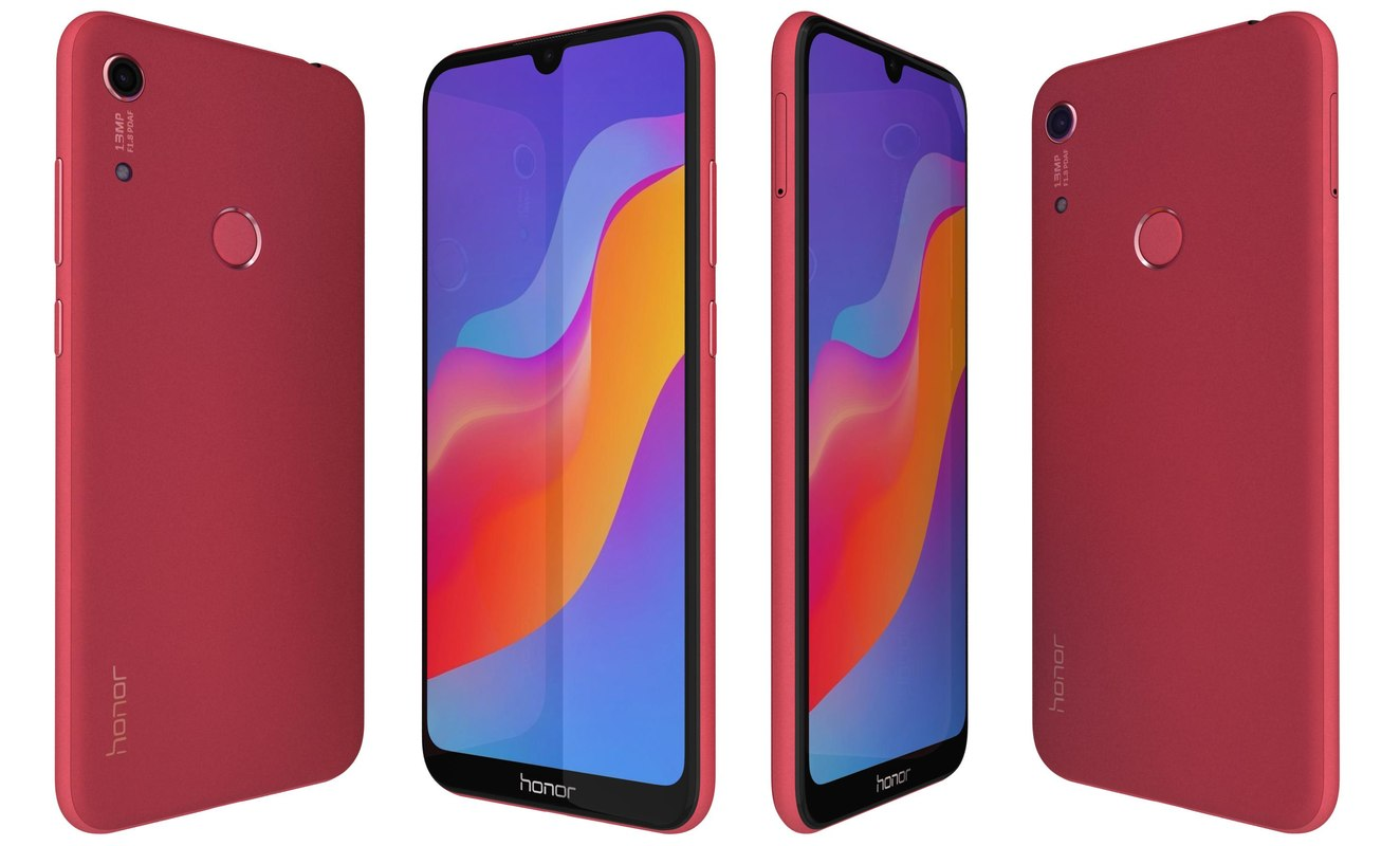 3D honor 8a red