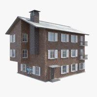games townhouse 3D model