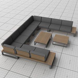 3D jati kebon - virginia model