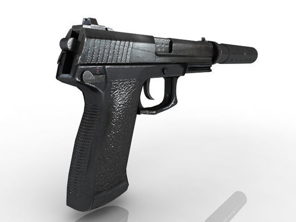 weapon gun pistol 3D model