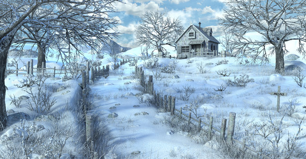 snow house 3D model