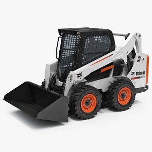 3d loader bobcat s590