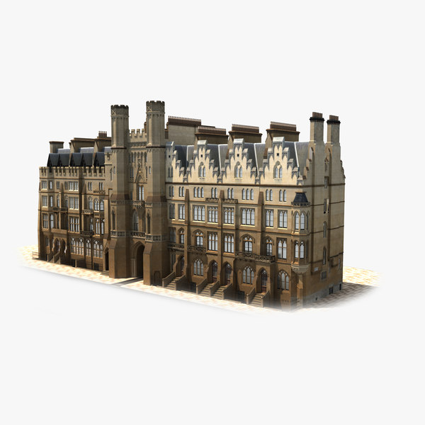 building london real accurate 3D model