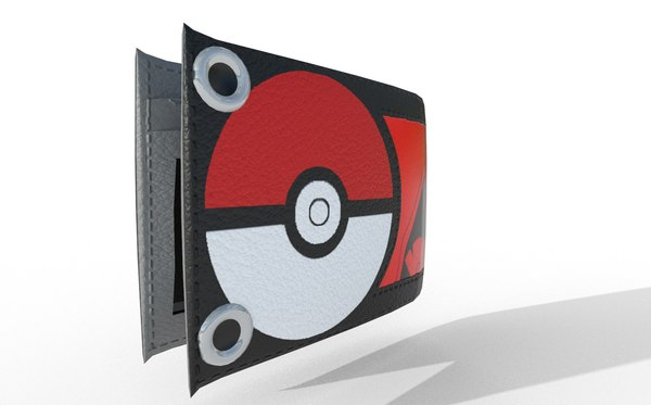 3D pokemon wallet