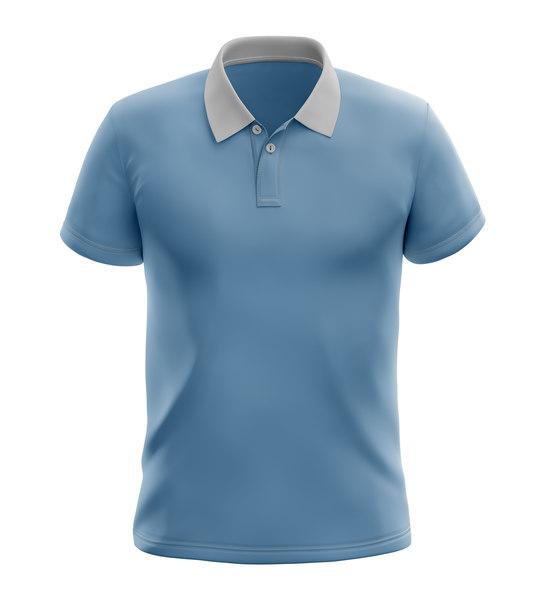 t shirt polo 3D
