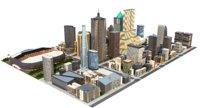 big city a1 3D model