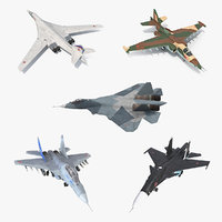 3D model russian millitary airplanes 2