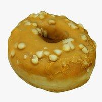 3D mini donut mc model