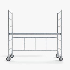 3D model scaffolding 3