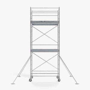 3D scaffolding pbr