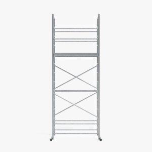 scaffolding pbr 3D model