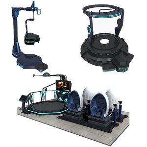 3D model vr equipment