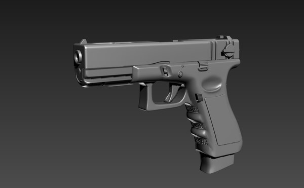 glock18c 3D model