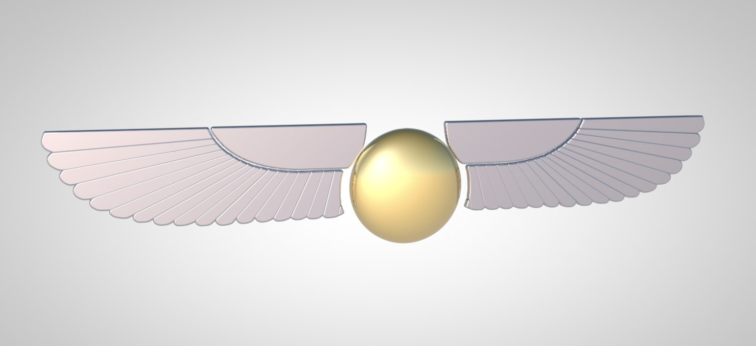 3D fantasy wings model