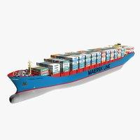 Maersk Dampier Mega Container Ship