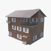 games townhouse 3D model
