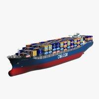 CMA CGM Neptune Mega Container Ship