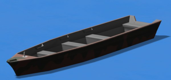 boat pushing model
