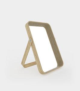 3D table mirror ash modelled model