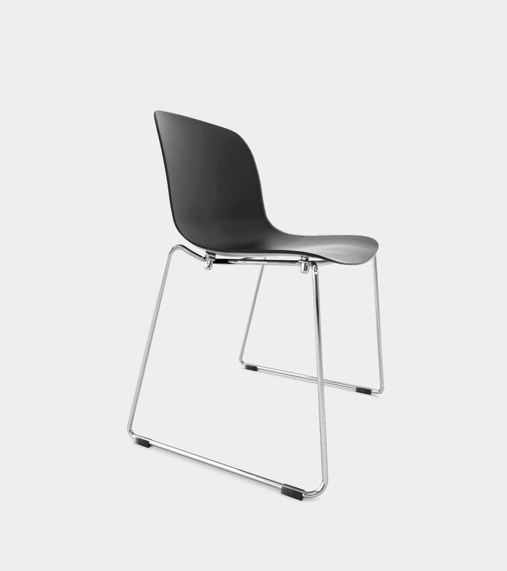 photorealistic chair chrome frame 3D