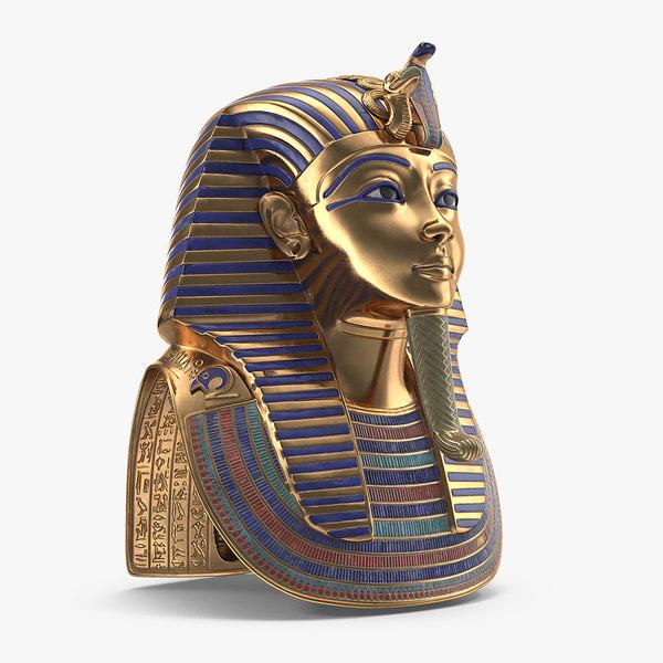 mask tutankhamun model