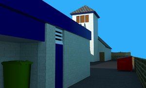 3D ludlow station unfinished