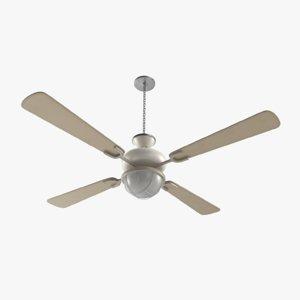 3D ceiling fan model