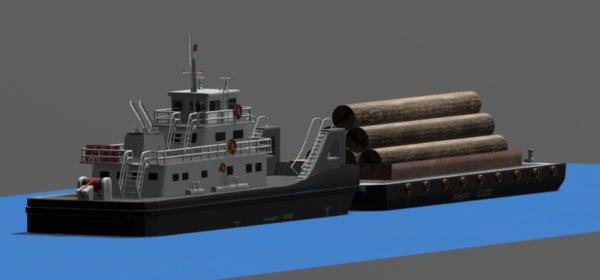 push boat 3D