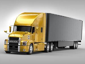 3D mack truck model