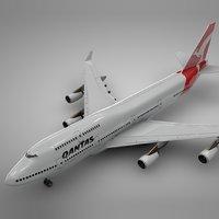 Boeing 747-400_Qantas L112