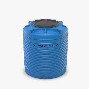barrel tank water model