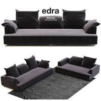 edra absolu sofa large 3D