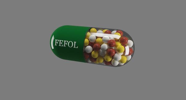 pill 3D model