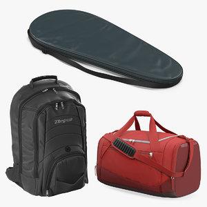 3D sport bags