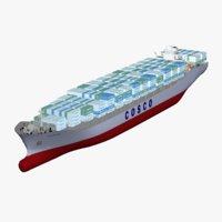 COSCO Yantian Container Ship