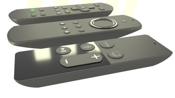 tv remote model