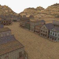 western village model