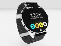smartwatch 3D model
