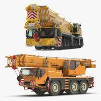 3D mobile cranes liebherr model