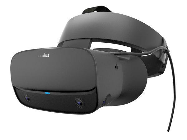 oculus rift s 3D model