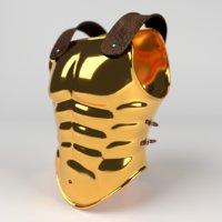 armor greek 3D