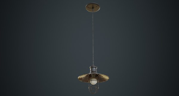 hanging lamp 3c 3D model