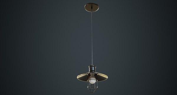 hanging lamp 3a 3D model