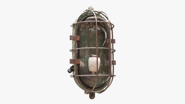 old bulkhead light 3D