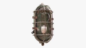 old bulkhead light 3D