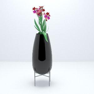 houses vase 3D model
